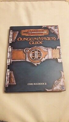 Dungeons And Dragons 3e Edition Dungeon Masters Core Book • 18£
