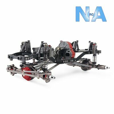1/10 RC Crawler Car 313mm 312mm 12.3  Wheelbase Metal Chassis Frame Suspension • 249.99£