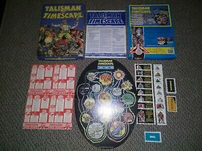 Talisman Timescape Complete Boxed Opp Rare Rpg Great Condition • 66.99£