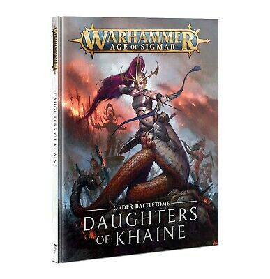 Warhammer Age Of Sigmar Daughters Of Khaine Battletome • 20£
