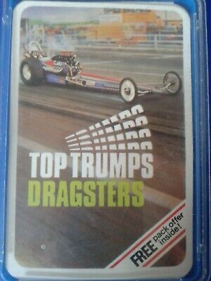 Top Trumps SCARCE DUBREQ DRAGSTERS COMPLETE VGC • 4.29£