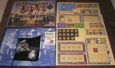 Superb 2006 Abacsspiele California Renovate Your New Mansion + Gifts Unplayed • 4.99£