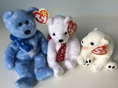 Ty Beanie Babies Bears Bundle • 18£