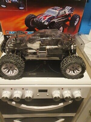 Vrx Nitro Roller Rc Car 1:10 2speed Like Ftx Carnage Rc Car See Pics  • 80£