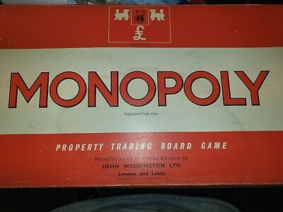 450 Vintage 1972 Monopoly Board Game In Great Condition For Age And Complete • 14.99£