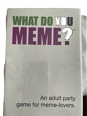 What Do You Meme Uk Edition • 19.99£