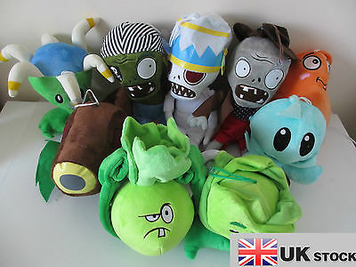 NEW Plants Vs Zombies 2 Plush Soft Toys In Different Choices UK SELLER • 5.79£