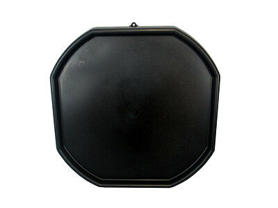 Large Plastic Builders MIXING TRAY For Cement Mortar Sand Plastering Spot Black • 17.79£