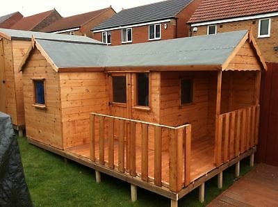 Single Storey Playhouse Wendy House Verande Very Spacious  • 1,250£
