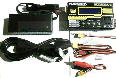 Turnigy Accucel 6 80w 10A Fast Balance Charger + Power Supply - LiPo NiMh IMax • 67.99£