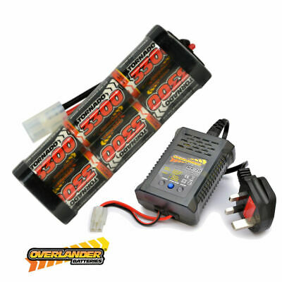 7.2v 3300mah Ni-MH Rechargeable Battery Pack And Fast Charger RC Car Tamiya • 32.99£