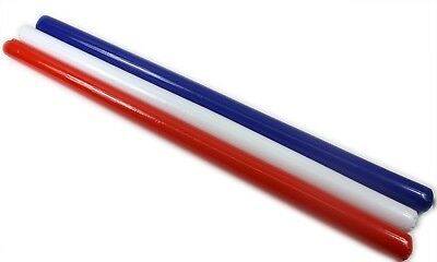 Inflatable Swimming Aid / Noodle 3 Colours Red Blue White Beach Garden Holiday • 2.99£