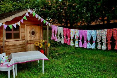 Quality Kids Playhouse Curtains ~ Girls & Boys ~ Summer/wendy/den Curtains • 9.95£
