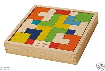 Everearth Eco Wooden Enigma Puzzle New And Boxed Childrens Wooden Toy • 21.99£