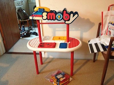 Original Vintage Smoby Childrens Kitchen With Extras Very Rare 80s 90s • 37.50£