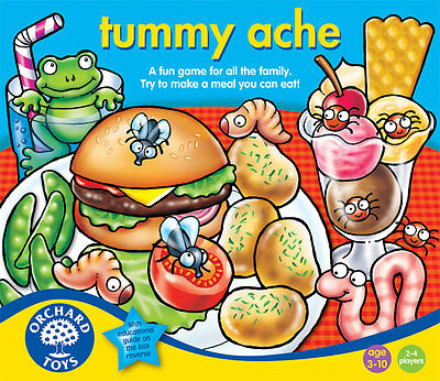 Orchard Toys Tummy Ache - Hilarious Game For All The Family - NEW • 10.76£