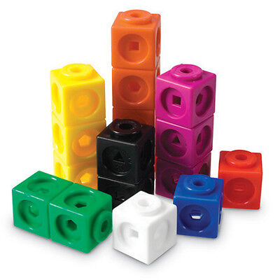 Learning Resources Mathlink Cubes Set Of 100 - NEW • 12.94£