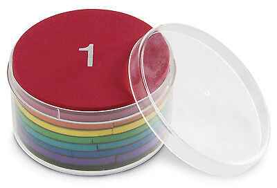 Learning Resources Magnetic Foam Rainbow Fraction Circles - NEW • 10.81£