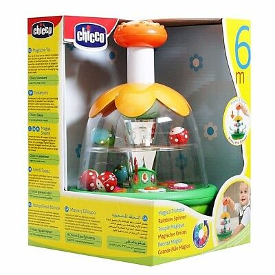 Rainbow Spinner Chicco Ages 6 Months+ Fantastic Traditional Fun & Skill Learning • 16.95£