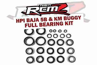 Team RCMZ Baja Full Replacement Bearing Set 5B 5T 5SC KM BUGGIES • 38.99£