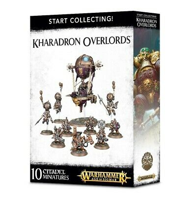 Start Collecting! Kharadron Overlords Games Workshop Warhammer40000 Brand New • 54£