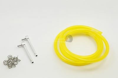 Atop RC Hi Flow Fuel Line Kit Yellow Upgrade For KM X2 & Losi 5ive • 13.49£