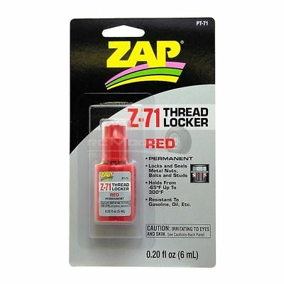 PT71 .20 Oz. Z-71 Red Thread Locker Great For HPI Baja, King Motor X2 • 6.49£