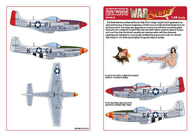 Kits-World Decals 1/48 P-51D Mustang - 'Lullaby For A Dream - MaryMae' # 48176  • 9.12£