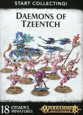 Start Collecting! Daemons Of Tzeentch Games Workshop Warhammer Age Of Sigmar New • 49.50£