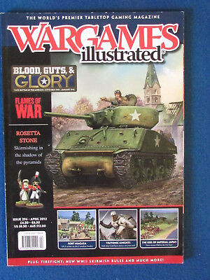 Wargames Illustrated Magazine - April 2012 - Issue 294 • 4.99£