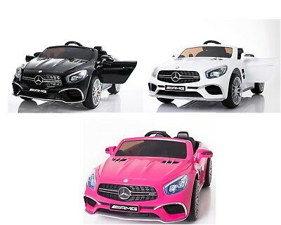 New Official Mercedes Sl65 Amg Kids Electric 12v Ride On Car + Parental Remote • 189.99£