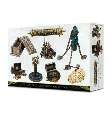 Warhammer Age Of Sigmar Shattered Dominion Objectives Games Workshop New • 22.50£