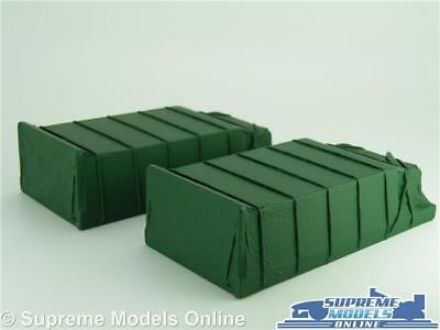 2 X Sheeted Truck Lorry Loads 1:50 Scale Suitable For Corgi Classic & Modern K8 • 14.99£