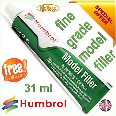 Humbrol Model Filler 31ml Tube Modelling Body Putty Plastic Kit Gap Fill • 6.99£