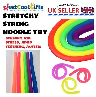 Stretchy Fidget Teething String Tangle Toy Relax Anxiety Stress Adhd Sensory Aid • 2.35£