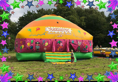Used Commercial Mega Bouncy Castle Disco Dome With PIPA • 1,795£