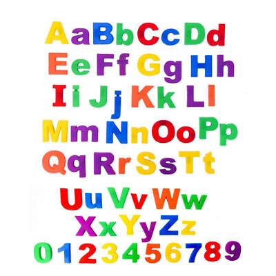 Kids Learning Teaching MAGNETIC Toy Letters & Numbers Fridge Magnet Alphabet New • 4.99£