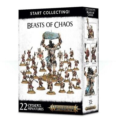Start Collecting! Beasts Of Chaos Games Workshop Warhammer Age Of Sigmar New • 54£