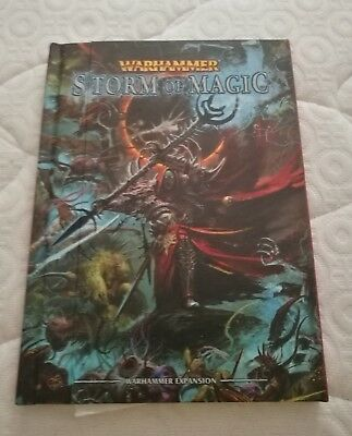 Games Workshop, Warhammer, AOS, Storm Of Magic Rulebook, Hardback, Oop • 10£