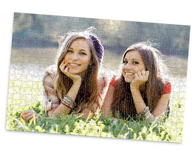 Personalised Photo Jigsaw Puzzle Collage In Box A5 A4 A3 Personal Custom Images • 9.95£