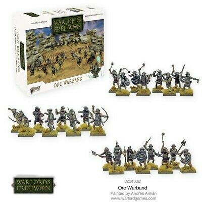 Orc Warband Warlord Games Brand New WGWE-692010002 • 16.20£