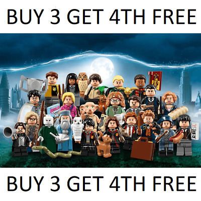 Genuine Lego Harry Potter Minifigures Series 1 + Fantastic Beasts 71022  • 169.99£