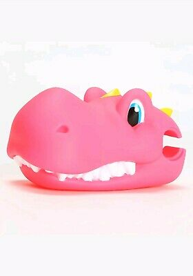 Pink Dinosaur Scooter Toy Head Cover Attachment Children Funny Game Kids Gift • 9.99£