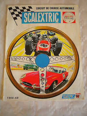 Vintage Scalextric Catalogue French Edition 1968-1969   • 14£