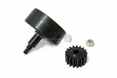 Hex Drive Vented Clutch Bell With 17T Pinion For KM & Baja Buggy 1/5th • 34.99£