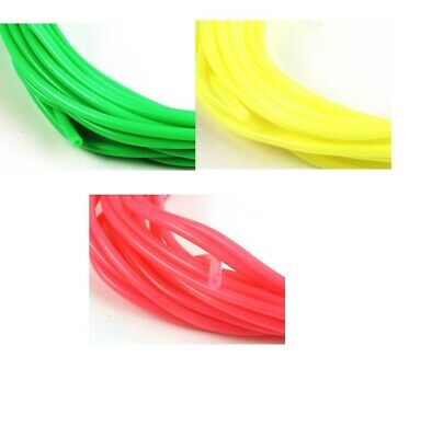RC Neon Fuel Tubing OD 5mm, ID 2mm Choice Of Colour - RC Model Boats • 2.75£