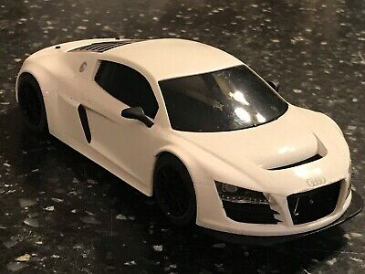 Scalextric White Audi R8 Lms Slot Car Working 1:32 (total Supercars) • 19.99£