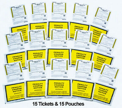 WARNING - Very Realistic Fake Joke Parking Tickets Prank  OFFICIAL LOOK & FEEL - • 7.99£