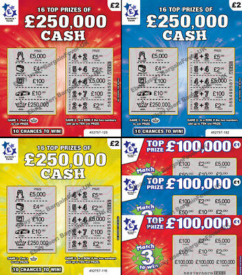 Put In A Birthday / Xmas Card FAKE JOKE LOTTERY SCRATCH CARDS SCRATCHCARD TICKET • 2.49£