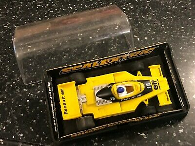 HORNBY SCALEXTRIC YELLOW ELF RENAULT RS-01 SLOT RACE CAR WORKING 1:32 Ref: C134 • 21.99£